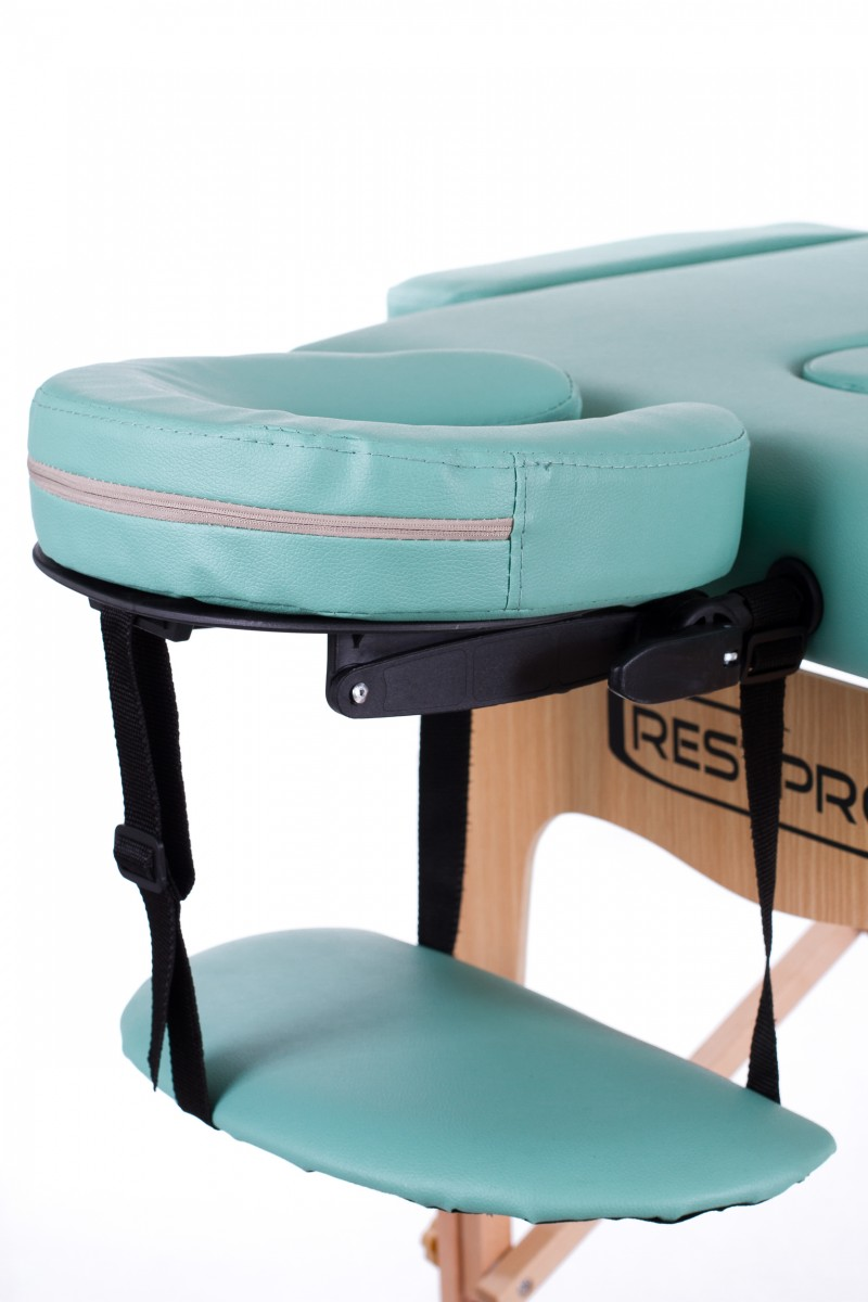 RESTPRO® Classic-2 Blue-green Massage Table + Massage Bolsters