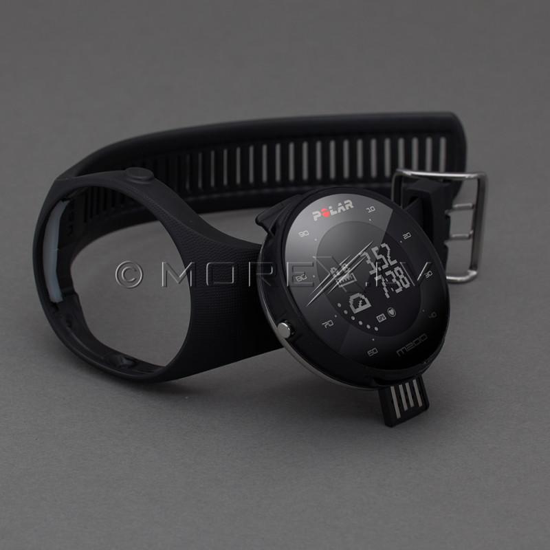 Sportinius laikrodžius POLAR M200 BLACK, M/L