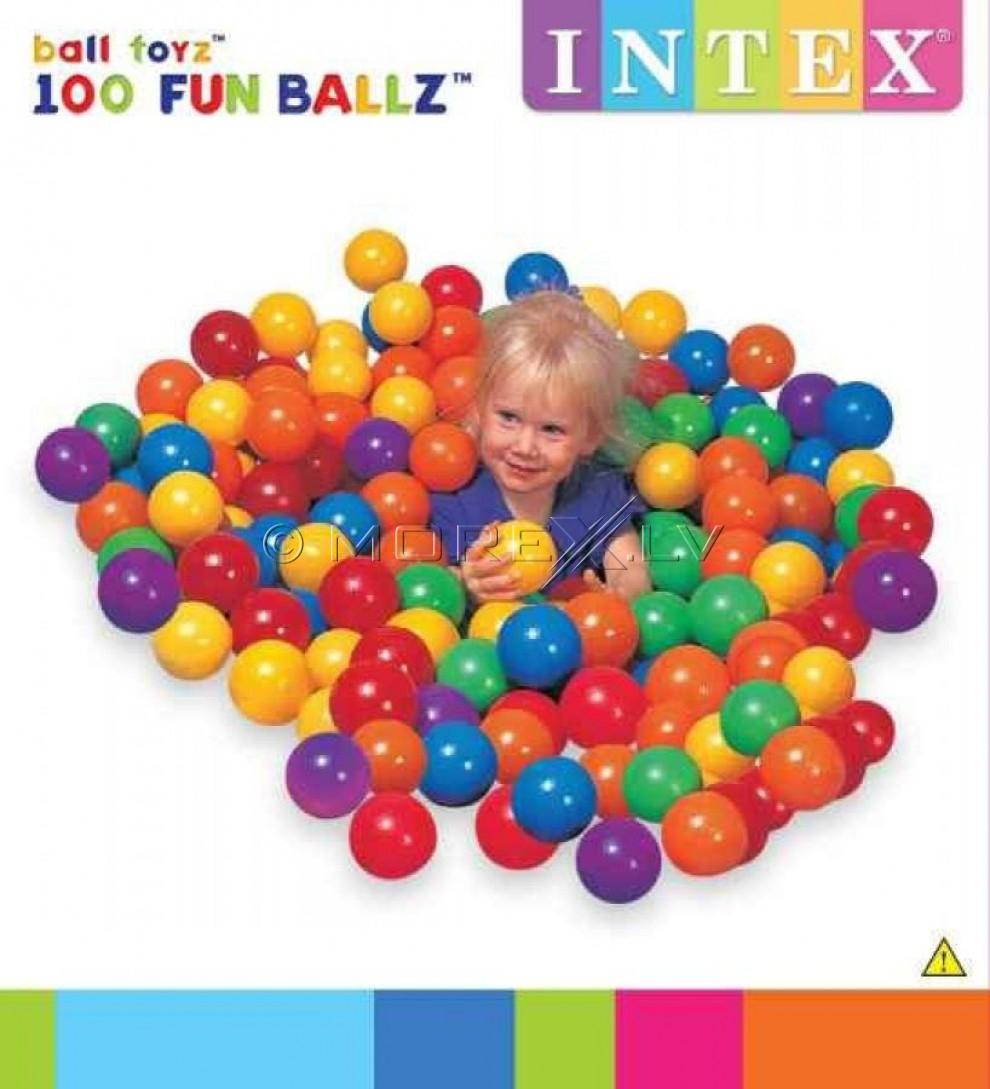 Intex big balls 100pcs (8cm)