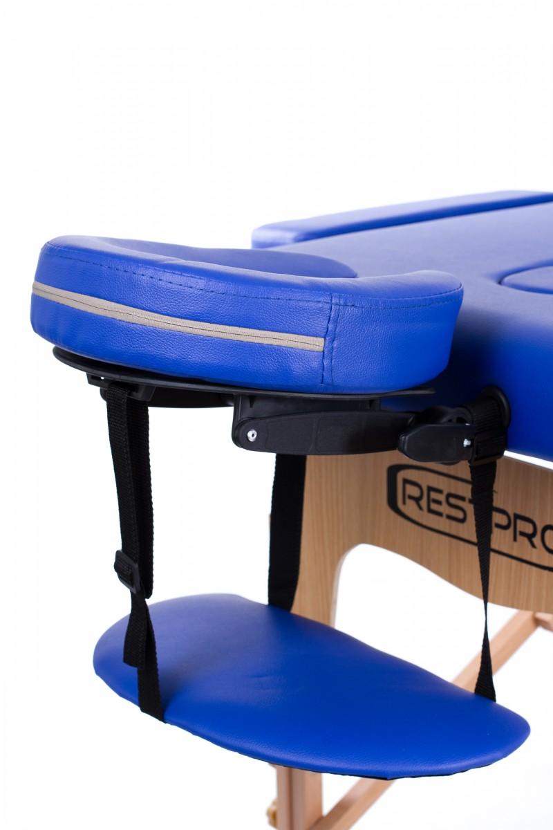 RESTPRO® Classic-2 BLUE Massage Table + Massage Bolsters