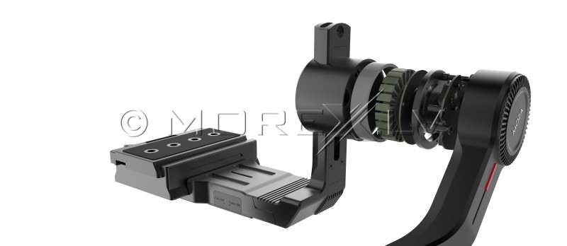 Objektyvo MOZA iFocus valdymo sistema (variklis+pultas)