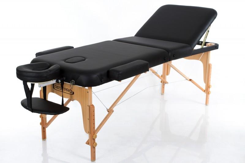 RESTPRO® VIP 3 BLACK sulankstomas masažo stalas