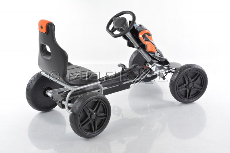 Velomobilis (Velomobile) Go-Kart 1504 Black (5-12 years)