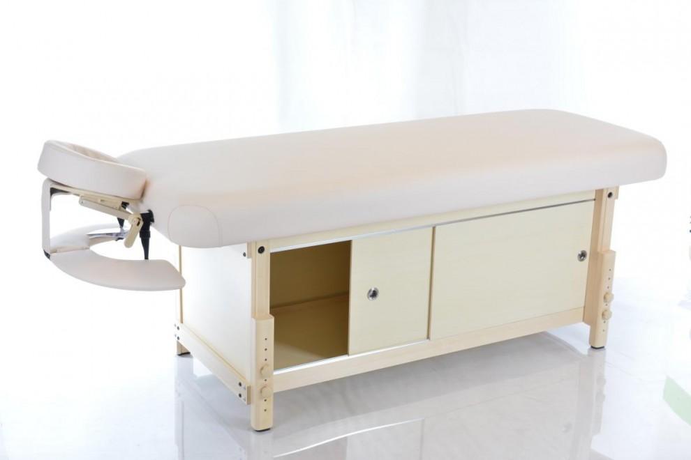Masažo stalas RESTPRO® Kaiser-Flat Beige