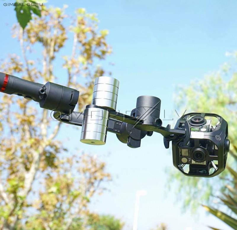 Elektroninis kameros stabilizatorius MOZA Guru360 Air