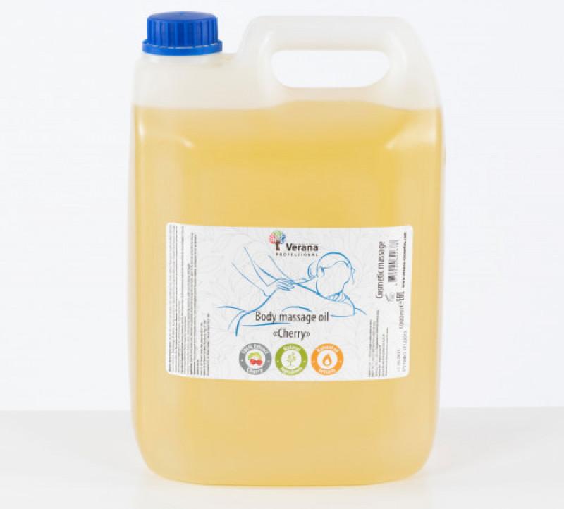 Body massage oil Verana Professional,Cherry 5 L