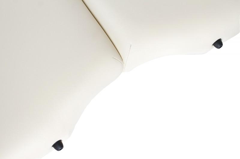 RESTPRO® VIP OVAL 3 CREAM sulankstomas masažo stalas