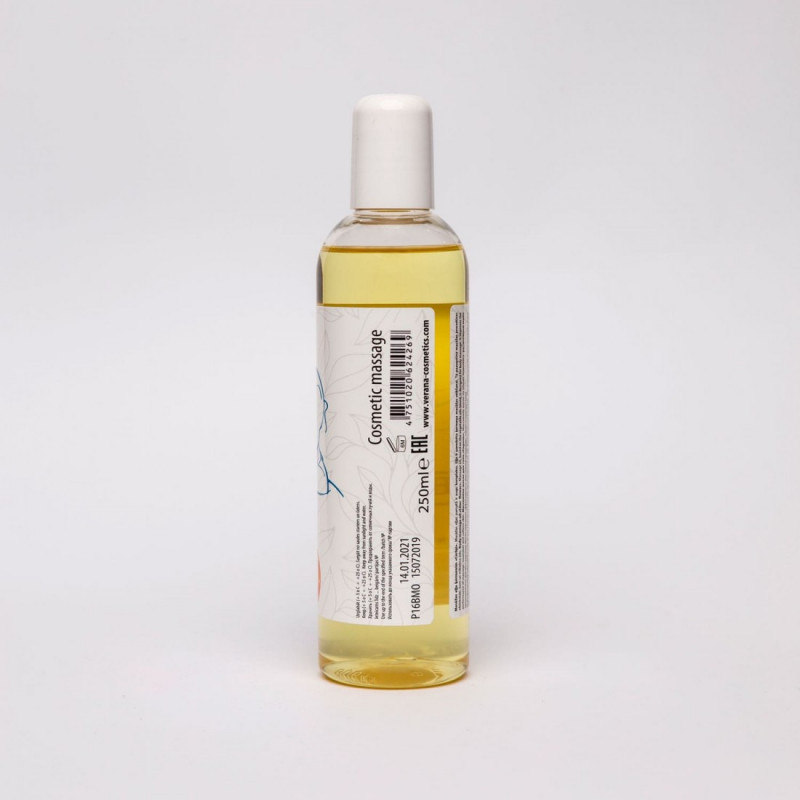 Body massage oil Verana Professional, Lilac flower 250ml