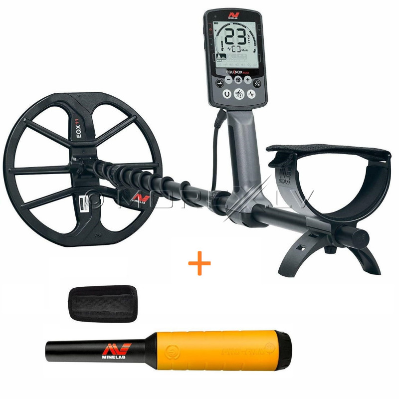 Minelab Equinox 600 Metal Detector + Minelab PRO-FIND 20 PinPointer
