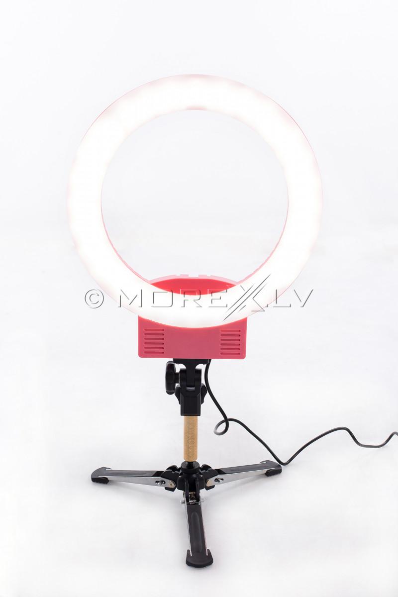 Žiedinė fotografavimo ir filmavimo LED lempa Ø33 cm, 36W (9601LED-12)