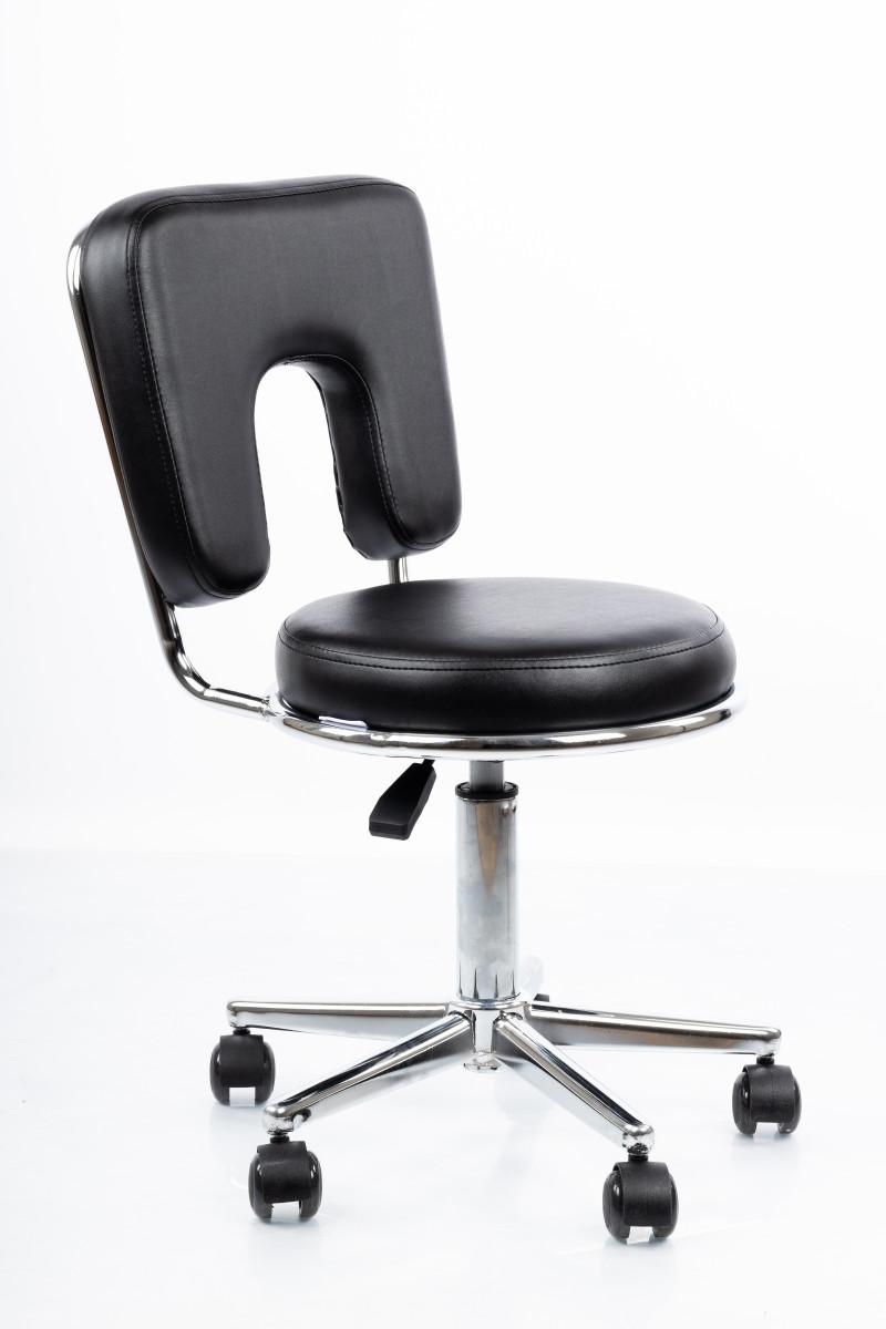 Masažuotojo kėdė RESTPRO® Round 4 black