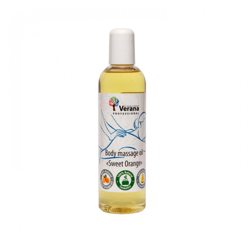 Body massage oil Verana Professional, Sweet orange 250ml