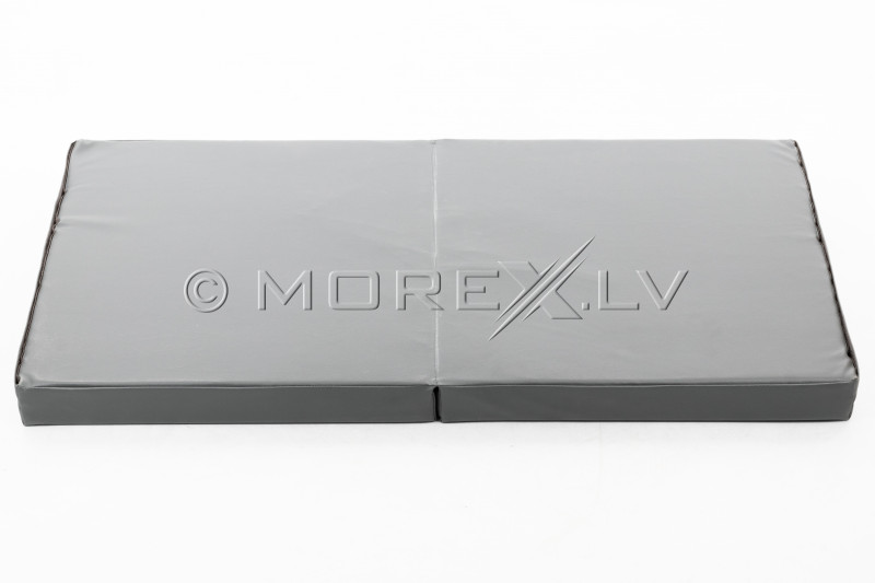 Leather safety mat 66x120 cm, pilkas