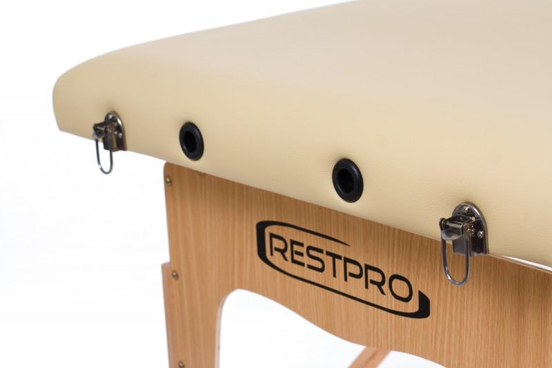 RESTPRO® Classic-2 Beige masažinis stalas (kėdė)