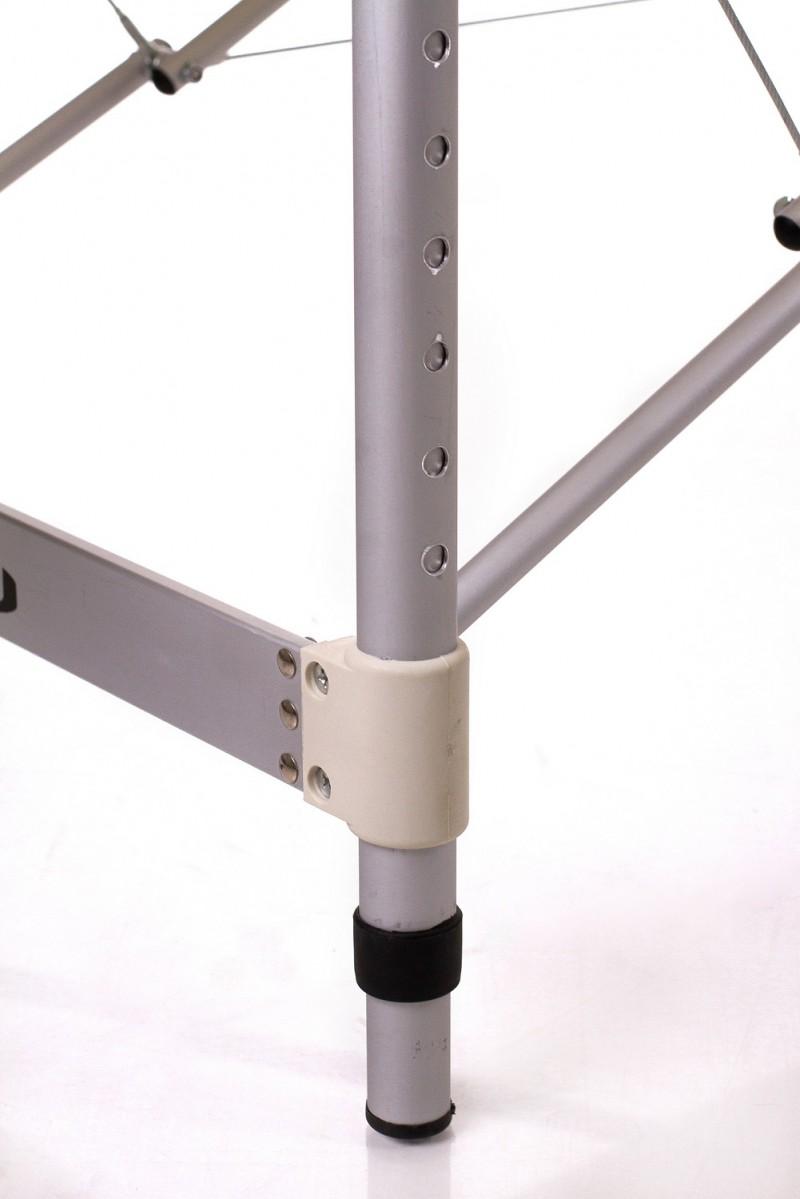 RESTPRO® ALU 2 (L) Cream sulankstomas masažo stalas