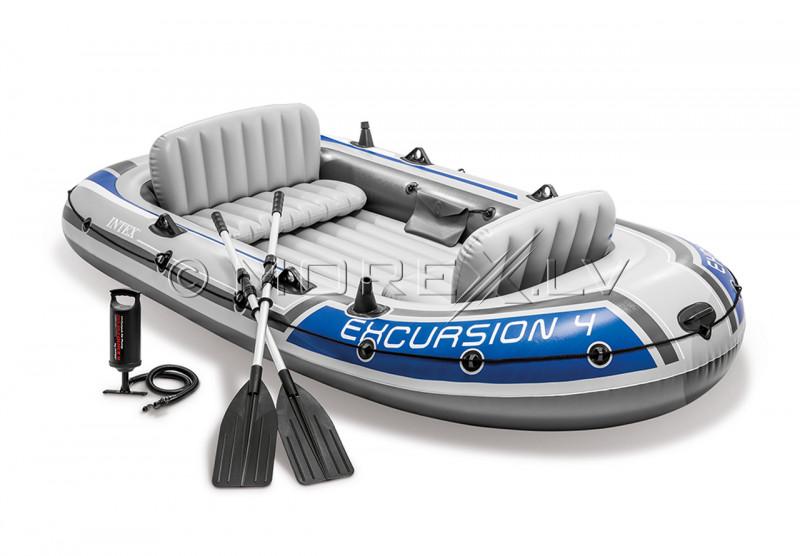 4-vietė pripučiama valtis Intex 68324 EXCURSION 4 SET (315х165х43 cm)