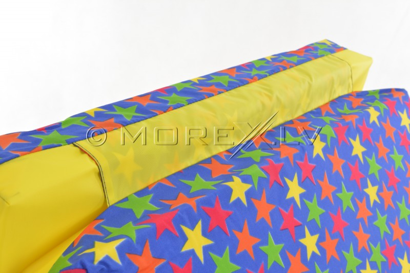 Safety mats for Pioner-A with stars 66x120 cm