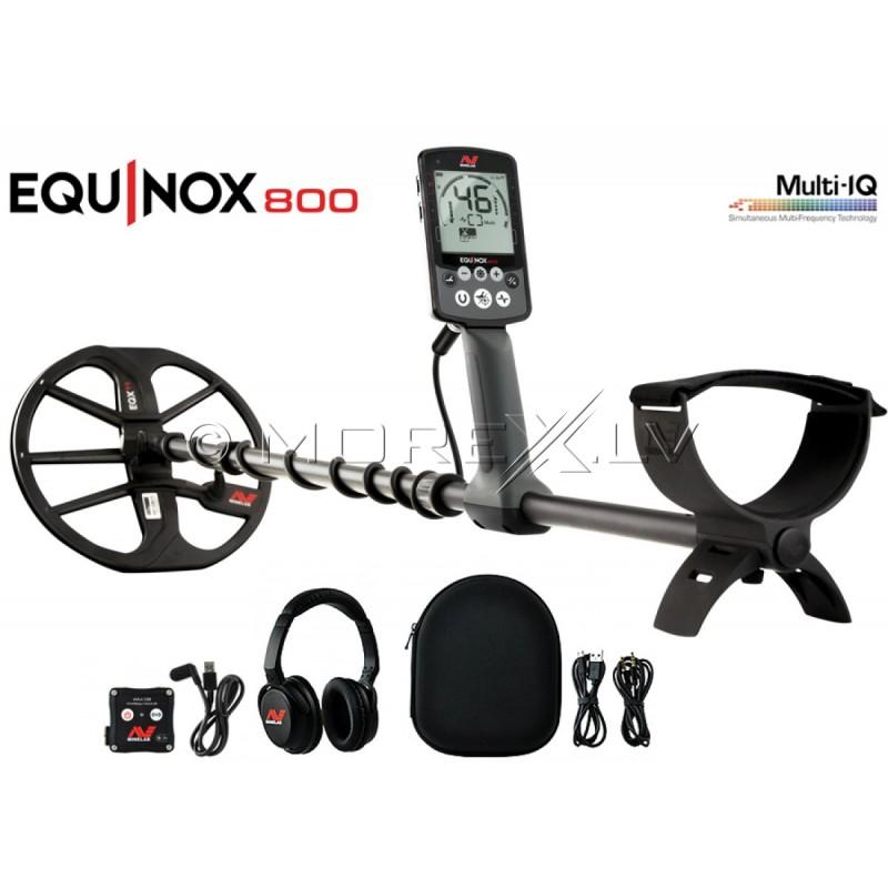 Metalo Detektoriai Minelab Equinox 800