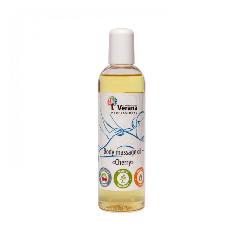 Body massage oil Verana Professional, Cherry 250ml