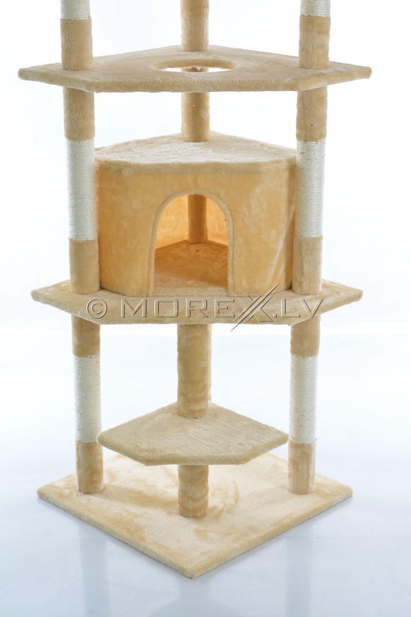 Kačių namai CAT093 Beige