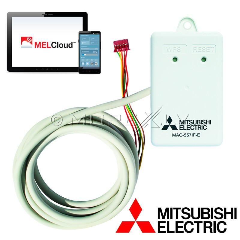 Wi-Fi valdymo adapteris Mitsubishi šilumos siurbliams, MAC-568IF-E