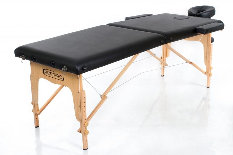 Masažo stalas - kušetė RESTPRO® Classic-2 Black
