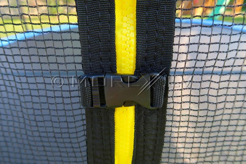 Batutas 305 cm + apsauginis tinklas + laiptai 10 ft (3.05 m)