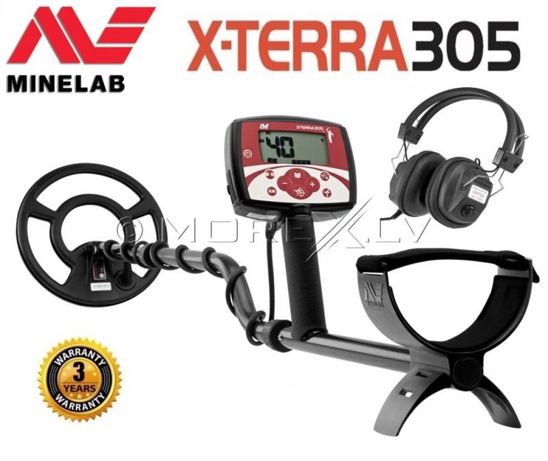 Metalo Detektoriai Minelab X-Terra 305 + GIFT (3704-0110)