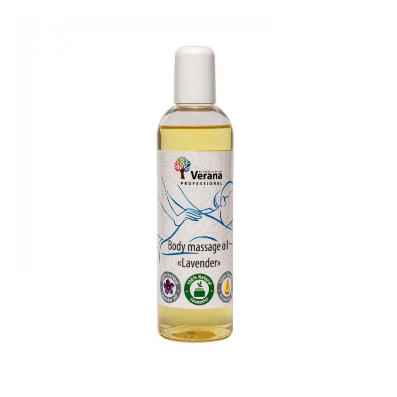 Body massage oil Verana Professional, Lavender 250ml