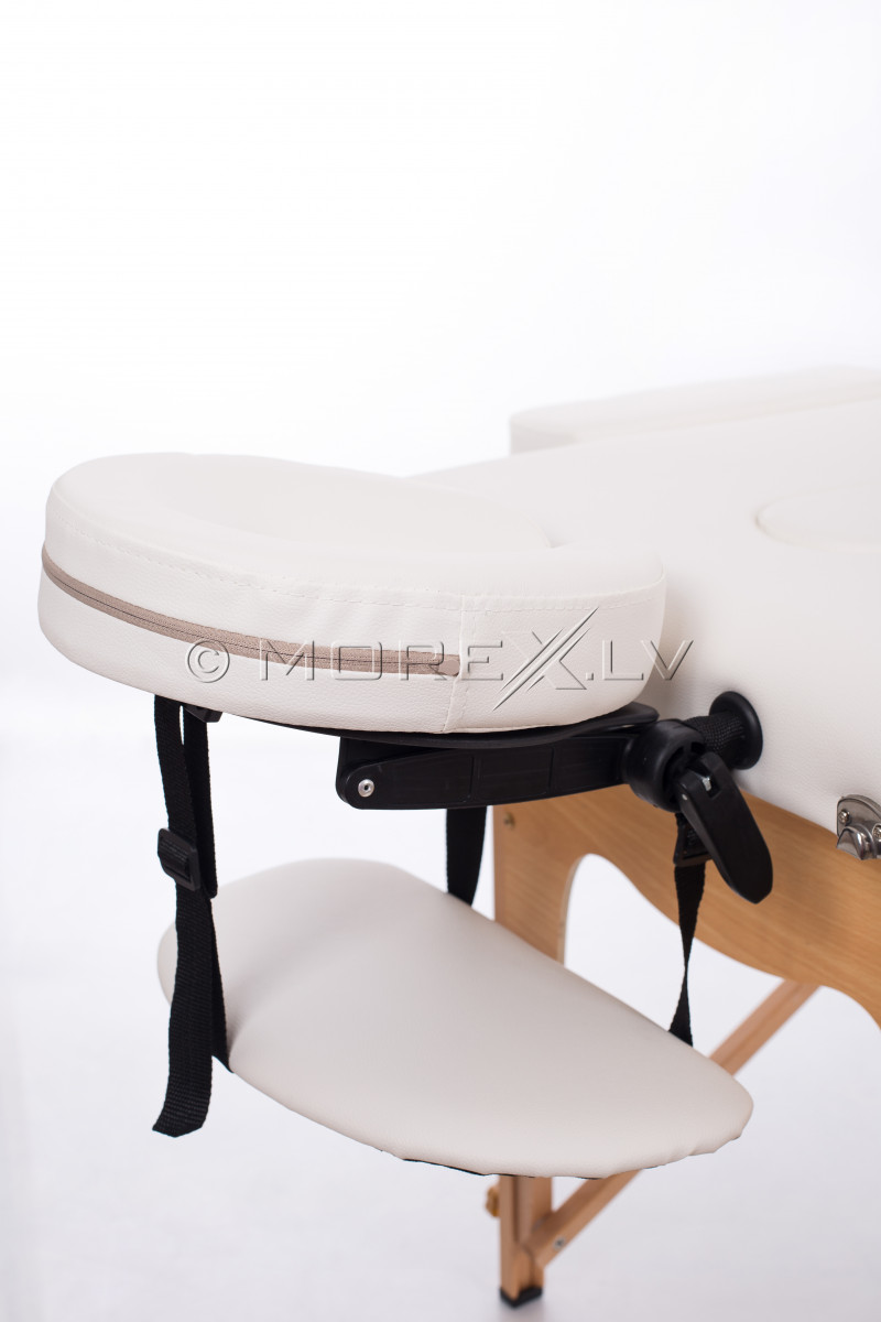 Portable Massage Table White 185 x 60 cm