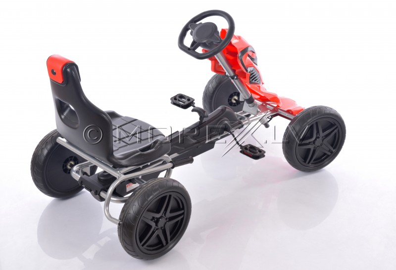 Velokart (Velomobile) Go-Kart 1504 Red (5-12 years)