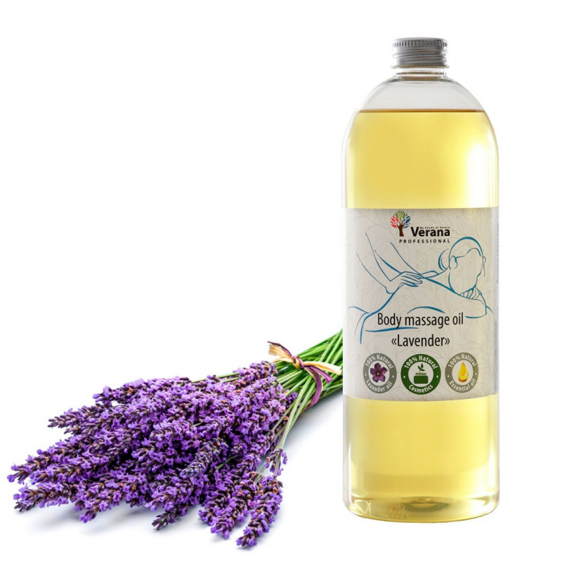 Body massage oil Verana Professional, Lavender 1 liter