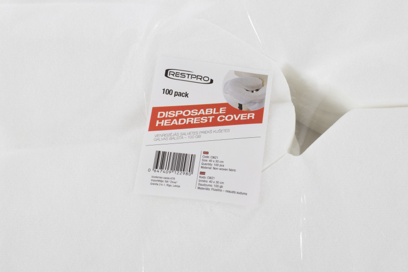 Disposable Headrest Cover - 1000 pack