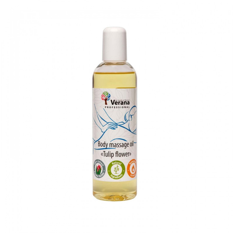Body massage oil Verana Professional, Tulip flower 250ml