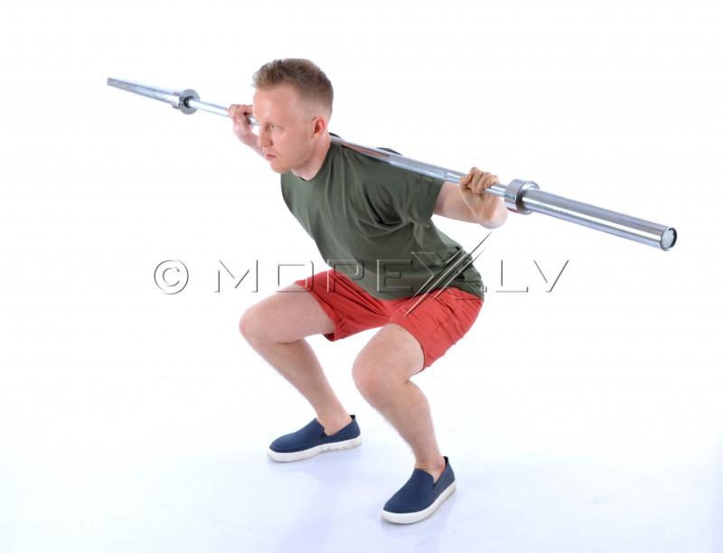 Olimpinis svarmenų strypas 220cm (50mm)