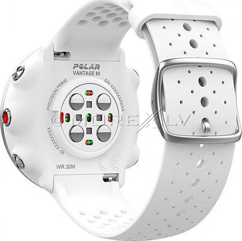 Sportinius laikrodžius POLAR VANTAGE M WHITE, M/L