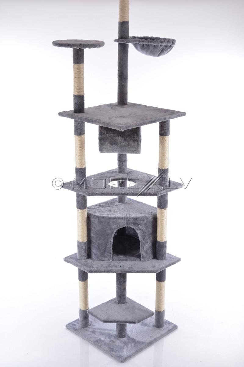 Kačių namai CAT093 Grey