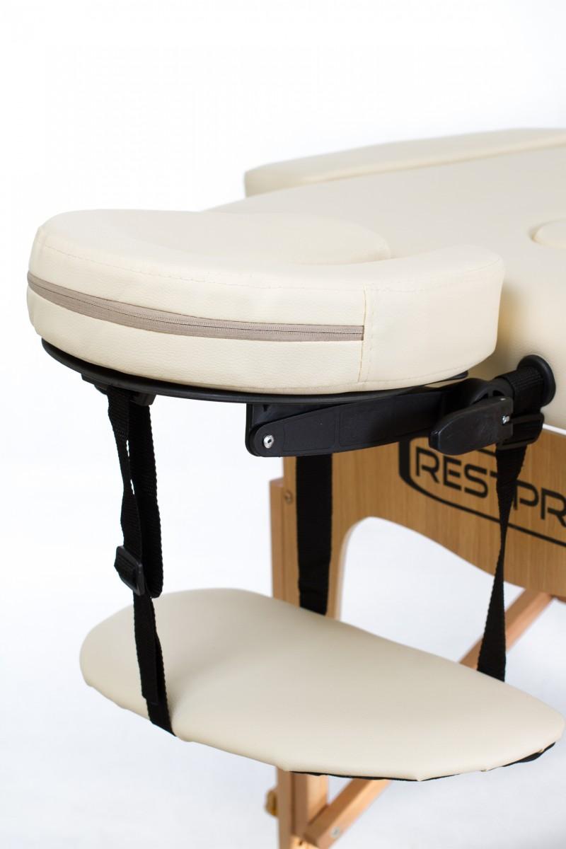 RESTPRO® Classic-3 Cream sulankstomas masažo stalas