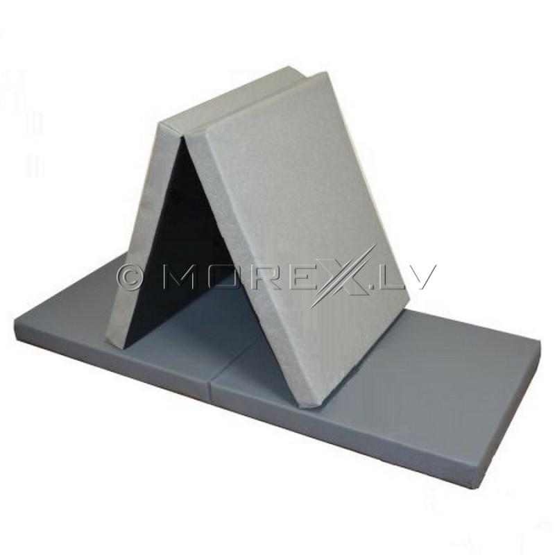 Leather safety mat 66x160 cm, pilkas