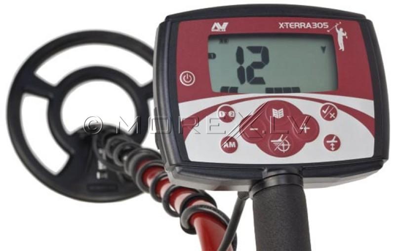 "Metalo Detektoriai Minelab X-Terra 305 With 9"" 7.5kHz CC Coil (3704-0107)"