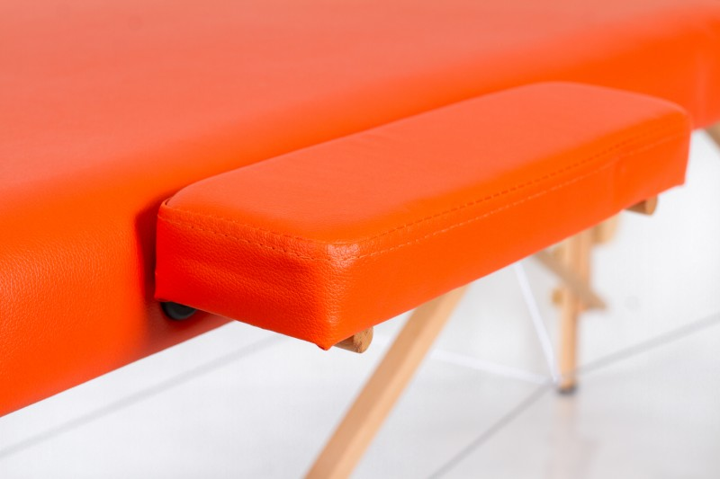RESTPRO® Classic-2 Orange Massage Table + Massage Bolsters