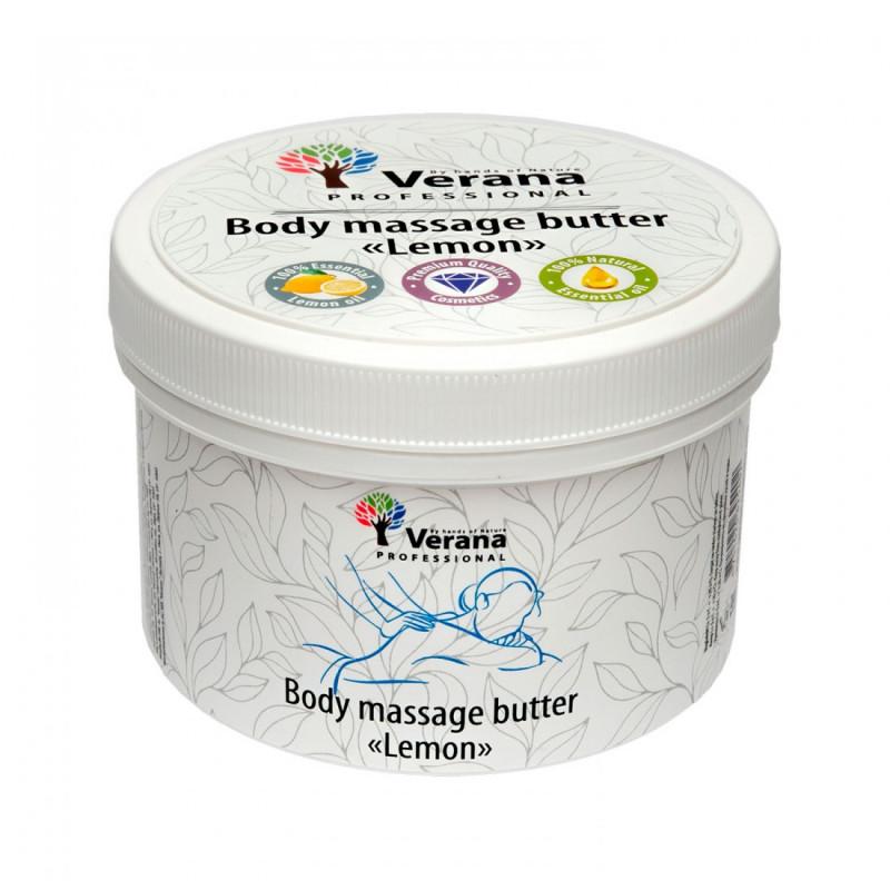 Body massage butter Verana Lemon 450 gr