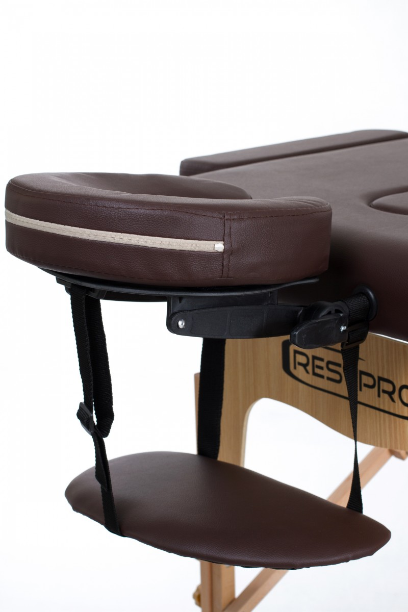 RESTPRO® Classic-2 Coffee Massage Table + Massage Bolsters