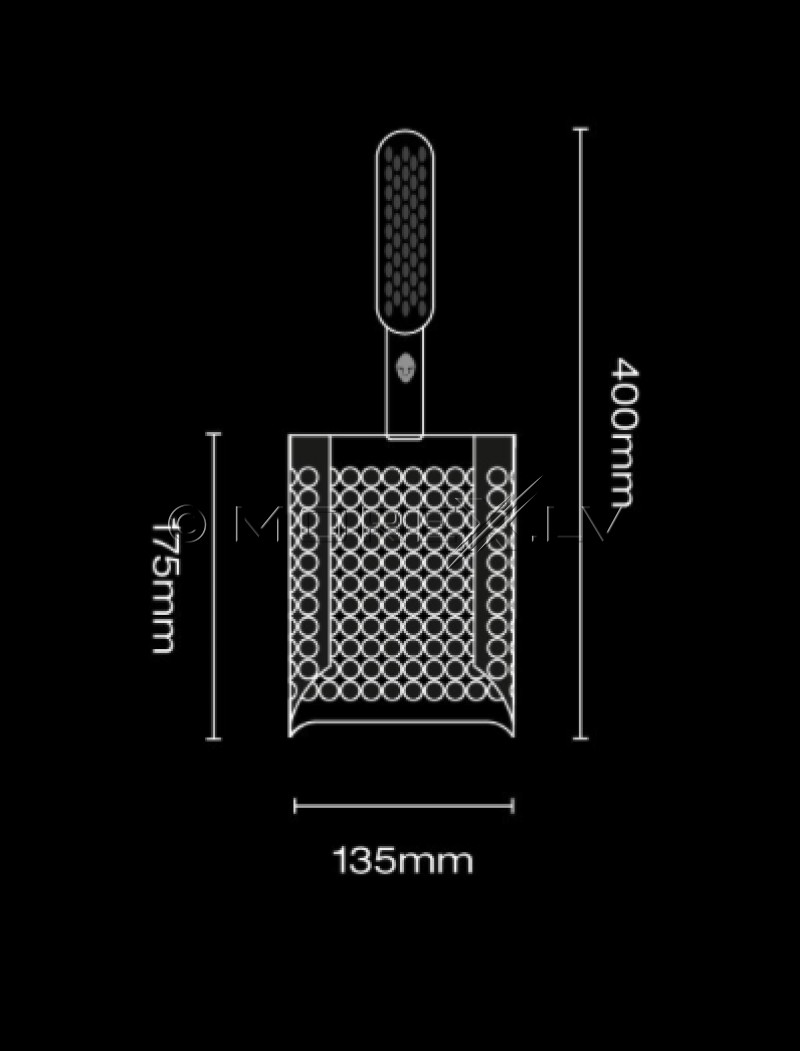Shovel Black Ada Sandscoop (Black)