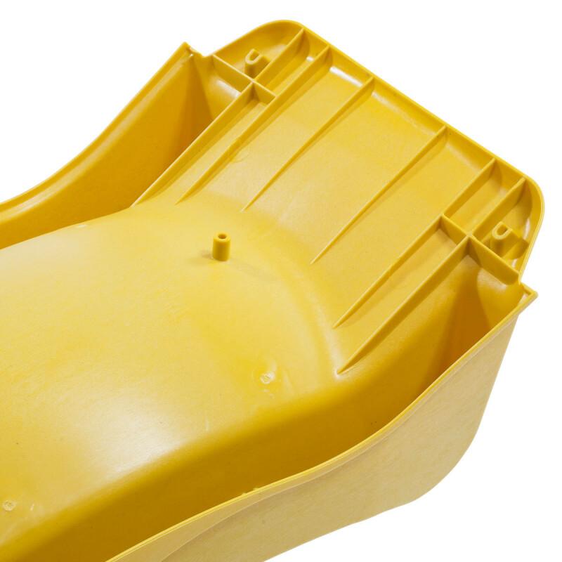 """Čiuožimo kalnelis КВТ """"reX"""" 2.3 m, aukštis 1.2 m, geltona"""