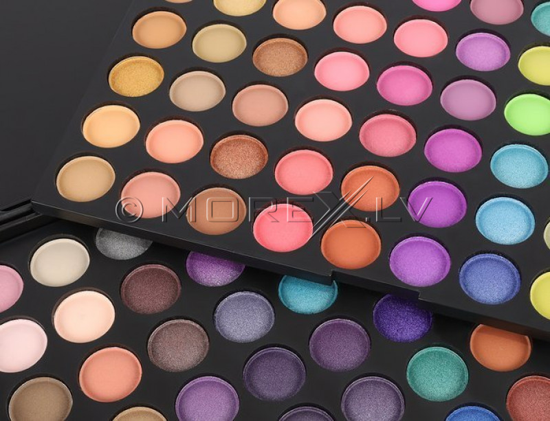 Vokų šešėlių paletė, 120 spalvų (10019)