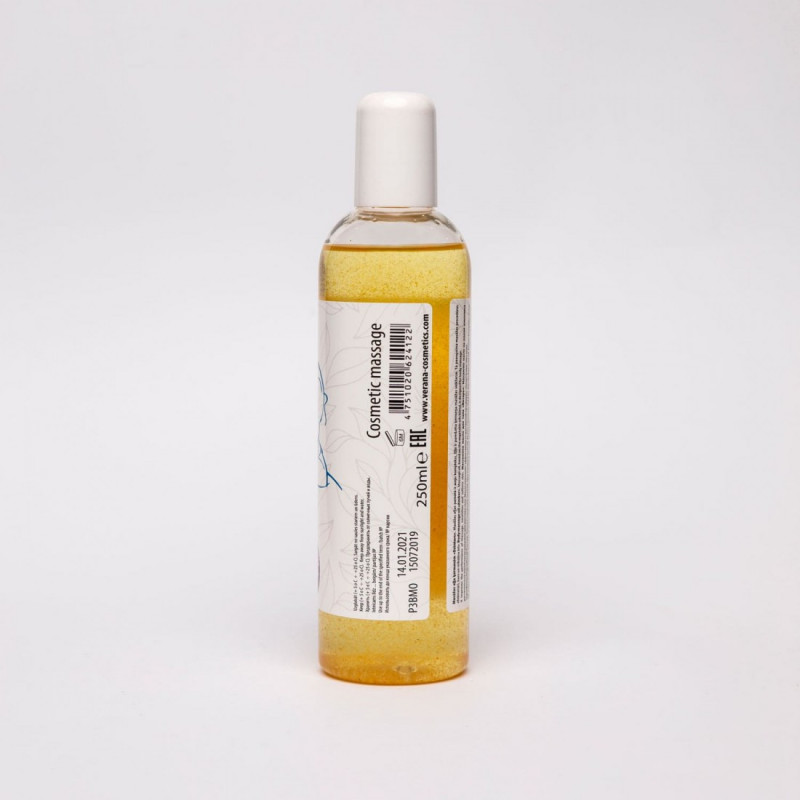 Body massage oil Verana Professional, Amber 250ml