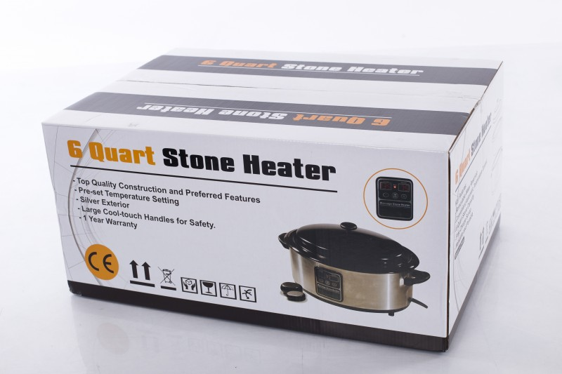 Massage Hot Stone Heater 6 quart (with display)