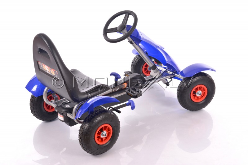 Velokart (Velomobile) Go-Kart F618 Blue (4-10 years)