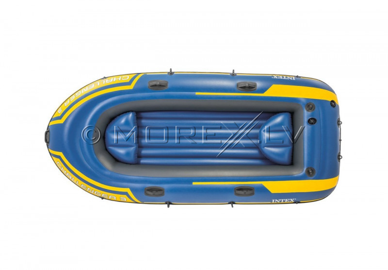 Inflatable three seat boat Intex 68370 NP Challenger 3 Set (295х137х43)